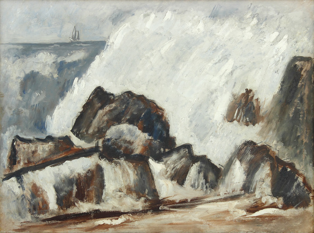, 'Storm Wave,' 1939-1940, Alexandre Gallery