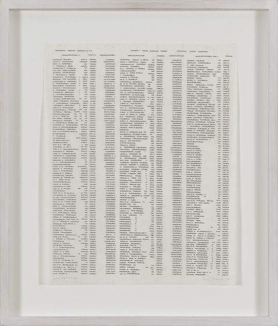 , 'Trascrizioni, Annotazioni,' 1975, P420