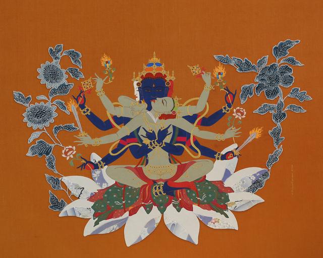 Livia Liverani, 'Guhyasamaja 密集金剛', 2014, W.Ming Art