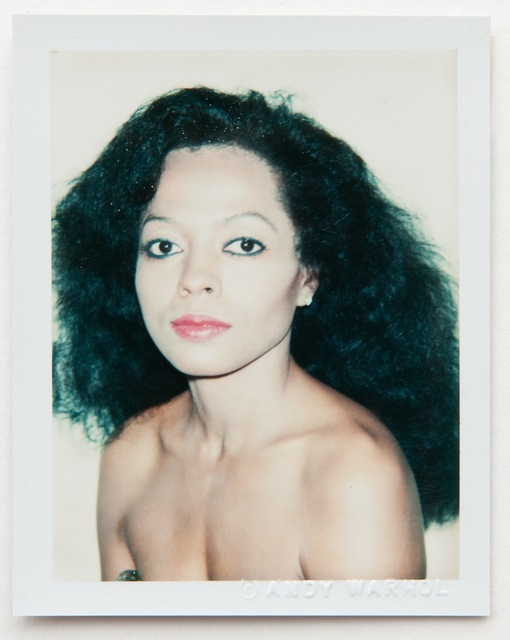 Andy Warhol, 'Andy Warhol, Polaroid Photograph of Diana Ross (The Supremes), 1981', 1981, Hedges Projects