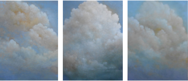 Donna McGinnis, 'Out of the Blue - triptych ', 2017, Andra Norris Gallery