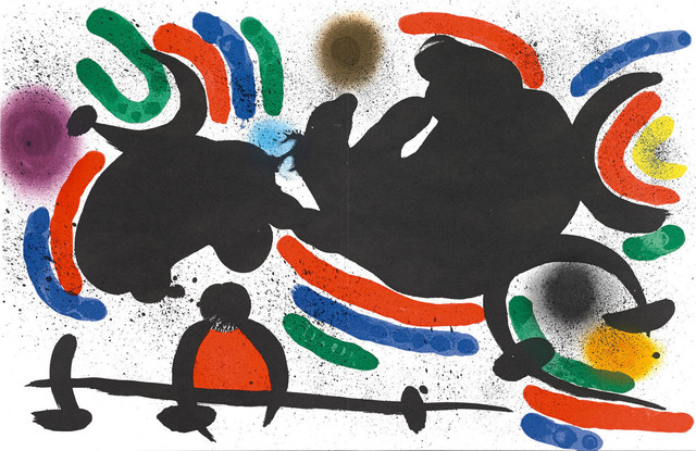 Joan Miró, 'Untitled (Lithographe I, M.860)', 1972, Martin Lawrence Galleries