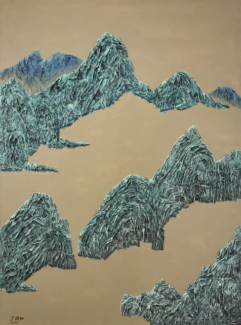 , '山水 3; Mountains, No.3 ,' 2010, Linda Gallery