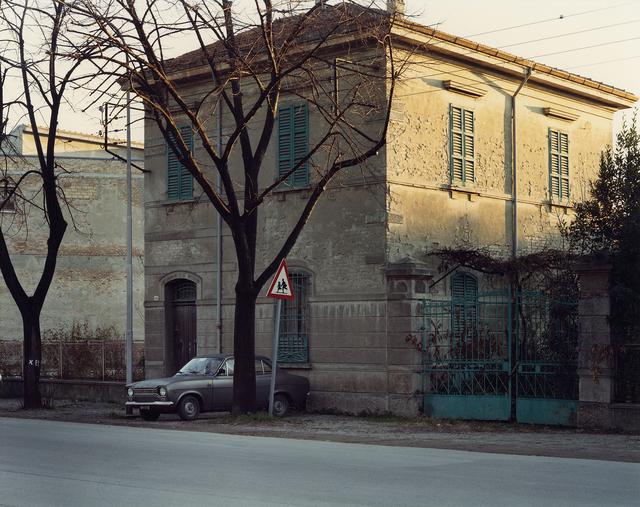, 'Via Emilia, Cesena, 1985,' 1985, Large Glass