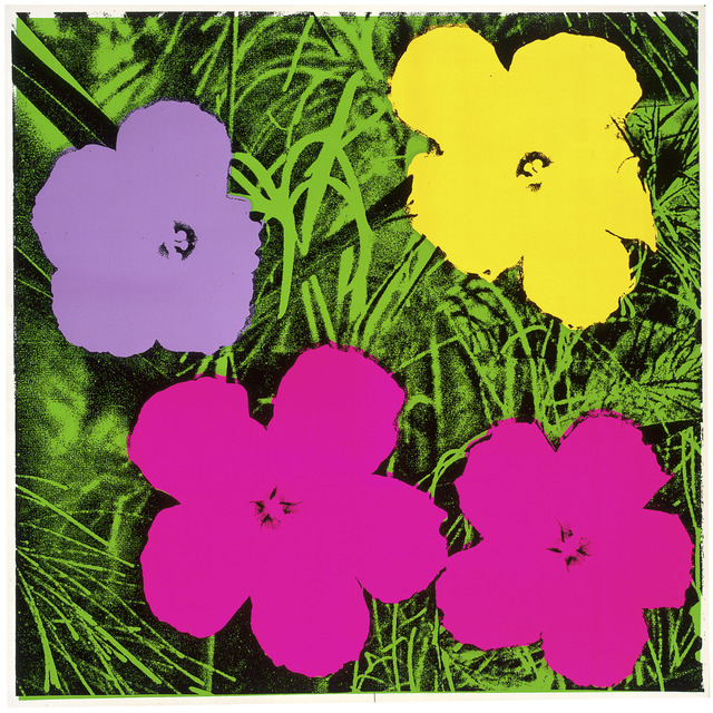 , 'Flowers,' 1970, National Gallery of Victoria