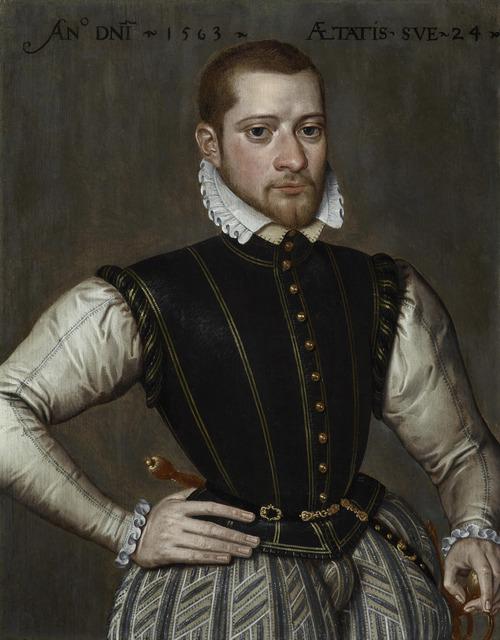 , 'Robert van Belle, Lord of Schonewalle (c.1539/40 – c.1572),' 1563, The Weiss Gallery