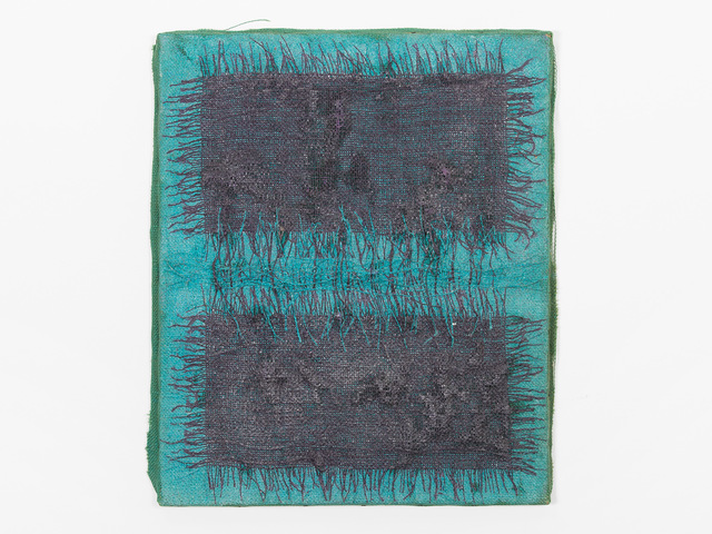 Hanna Eshel, 'Untitled (1) -- Collage Turqois Violet', 1969, Patrick Parrish Gallery