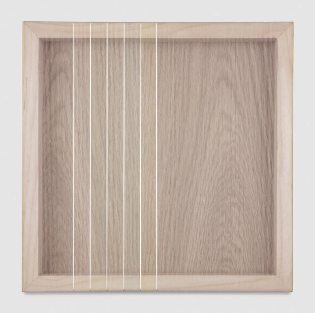 , 'Untitled (White Hovering Thread),' 2017, PRAZ-DELAVALLADE