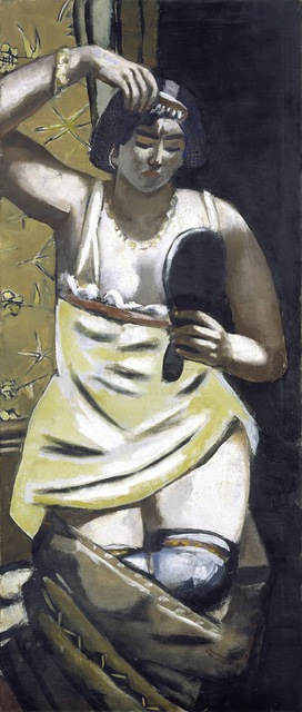 Max Beckmann, 'The Gypsy Woman', 1928, ARS/Art Resource