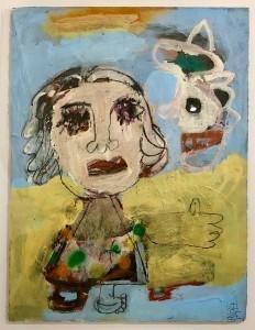 , 'Girl Dream,' 2017, Van Der Plas Gallery