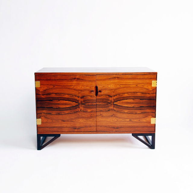 , 'ROSEWOOD CHEST,' ca. 1950, Lawton Mull