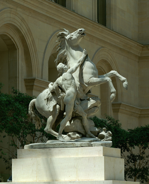 Nicolas Coustou, 'Cheval de Marly (Horse of Marly)', 1739-1745, Musée du Louvre