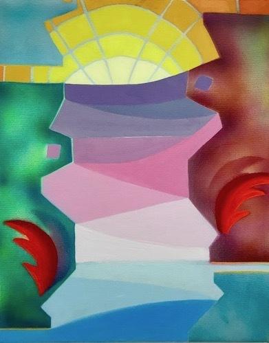 , 'Sun God,' 2018, Park Place Gallery