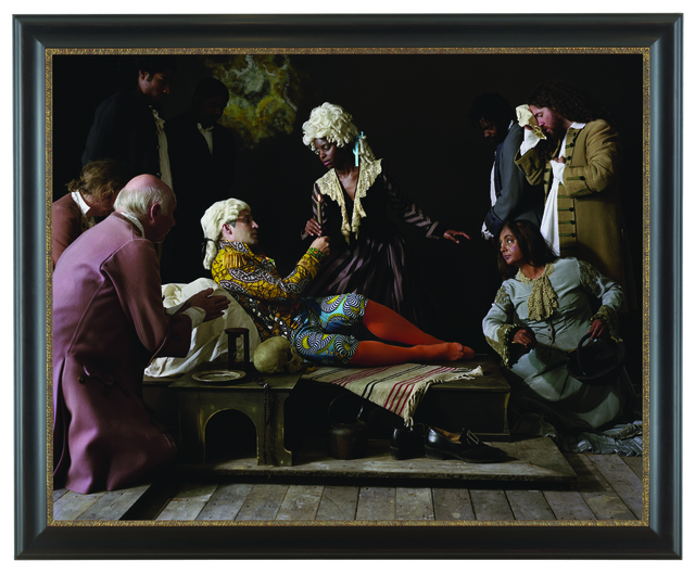 , 'Fake Death Picture (The Death of St Francis – Bartolomé Carducho),' 2011, Wroclaw Contemporary Museum