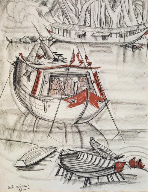 , 'Merchant ship, Mekong,' 1952, Galerie Dumonteil