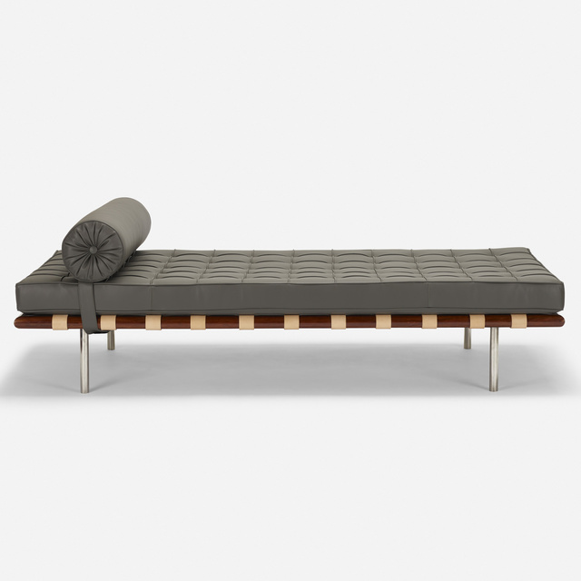 Ludwig Mies van der Rohe, 'Barcelona daybed', 1928, Wright