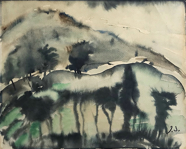 Elene Akhvlediani, 'Twilight in Mountains', 1962, Baia Gallery