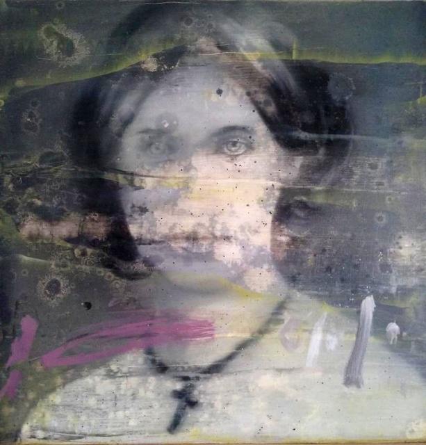 , 'Daguerréotype-40x40cm-001,' 2019, Galerie Bertrand Gillig