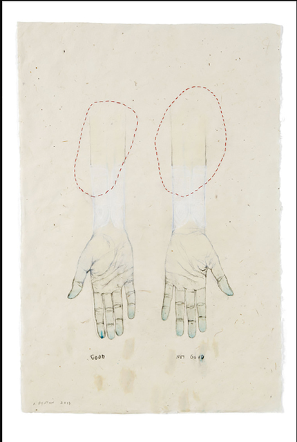 , 'Hands 4,' 2012, Sylvia White Gallery