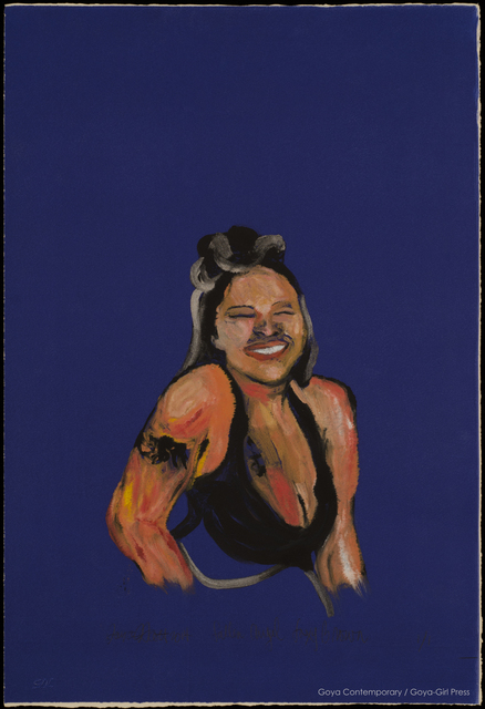 , 'Fallen Angel: Foxy Brown,' 2014, Goya Contemporary/Goya-Girl Press