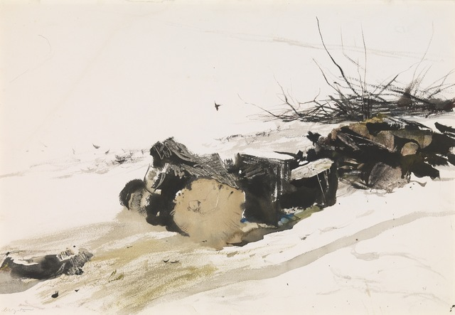 Andrew Wyeth, 'Silver Maple', 1954, Somerville Manning Gallery