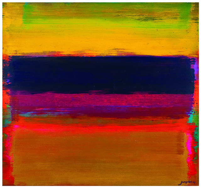 , 'Colors Play Sweeping #90,' 2009, Pyo Gallery