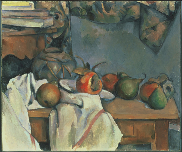 Paul Cézanne, 'Ginger Pot with Pomegranate and Pears', 1893, Phillips Collection