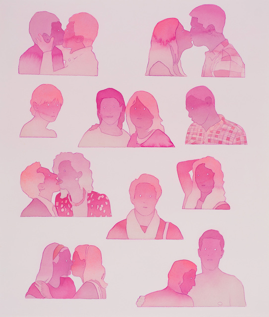 , 'Pink kisses,' 2018, Russo Lee Gallery