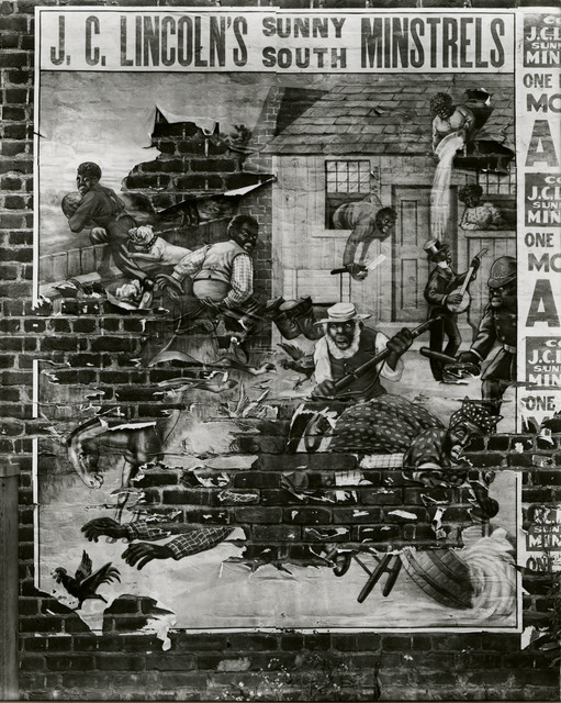 , 'Minstrel Showbill,' 1936, Edwynn Houk Gallery
