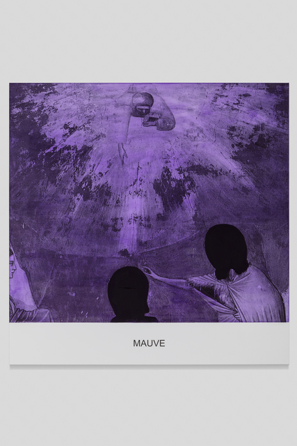 , 'The Purple Series: Mauve,' 2016, Galerie Greta Meert
