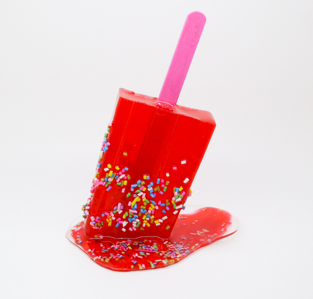 Betsy Enzensberger, 'Red Sprinkle Popsicle', 2019, Fabrik Projects Gallery