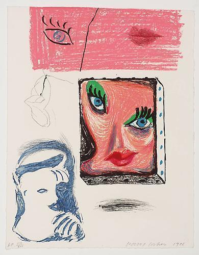 David Hockney, 'An Image of Celia', 1986, Vertu Fine Art