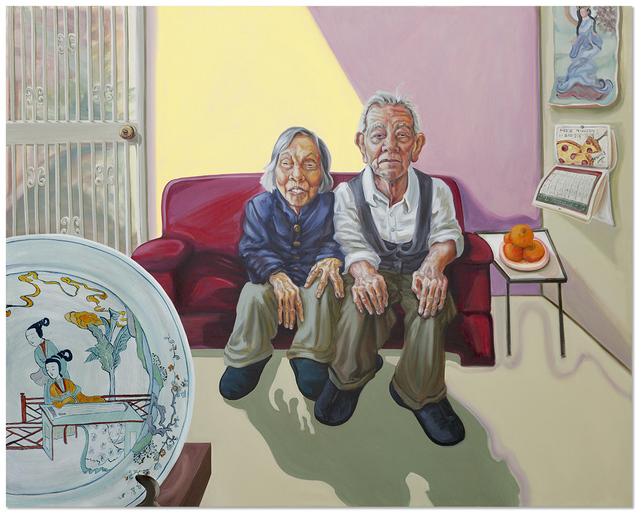 Patty Horing, 'Betty's Grandparents', 2018, Anna Zorina Gallery