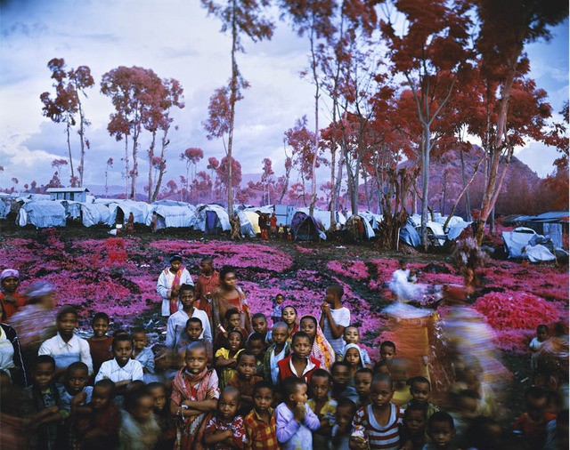 "Richard Mosse, '""Lost Fun Zone"",' 2012, Leyendecker"