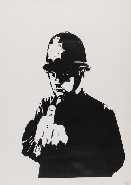 Banksy, 'Rude Copper', 2002, Forum Auctions