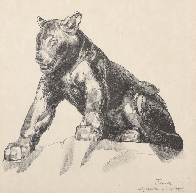 , 'Young Panther,' 1948, Galerie Marcilhac