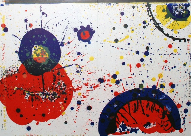 Sam Francis, ' Cloud Rock and Kayo 4 Years Old -- Red Eye', 1964, Georgetown Frame Shoppe