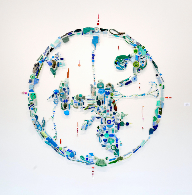 Pam Longobardi, 'One World Ocean (Anthropocene hyperobject)', 2017, HATHAWAY | Contemporary Gallery