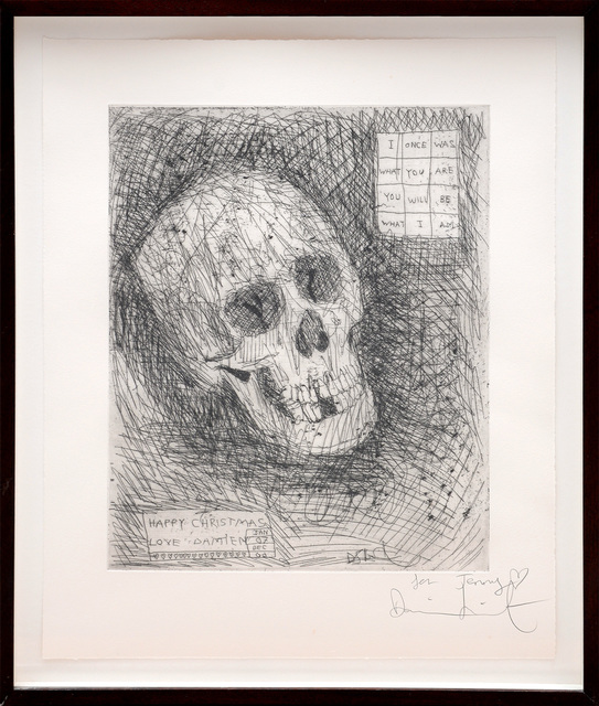 Damien Hirst, 'I Once Was What You Are You Will Be What I Am.', 2006, Print, Etching on wove paper, Peter Harrington Gallery