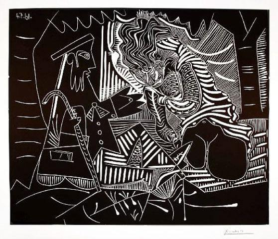 , 'Le Dejeuner sur l'Herbe (Luncheon on the Grass),' 1961, Masterworks Fine Art