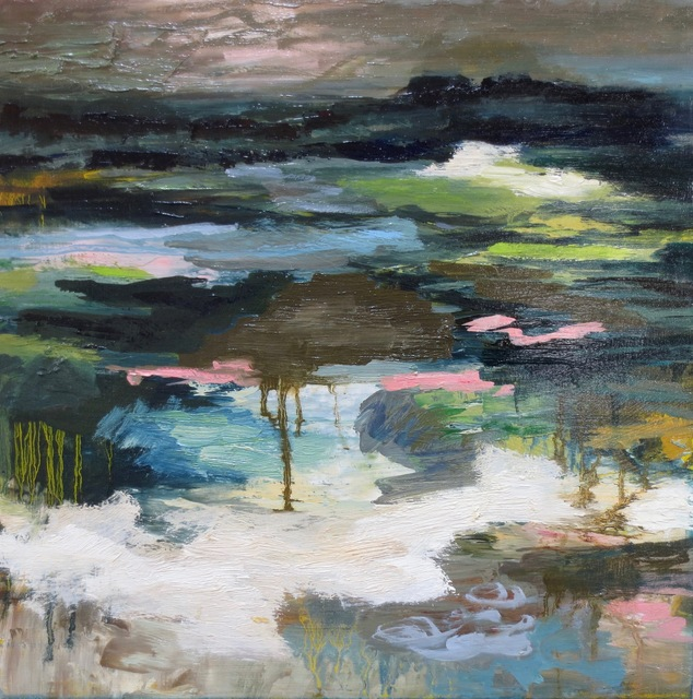 , 'Pond Study,' 2018, Seager Gray Gallery