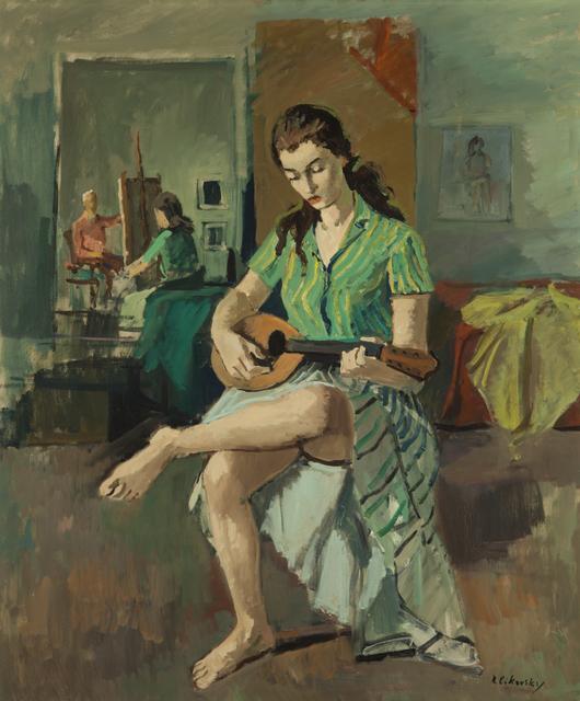 Nicolai Cikovsky, 'Girl with Mandolin', 1933-1987, ACA Galleries