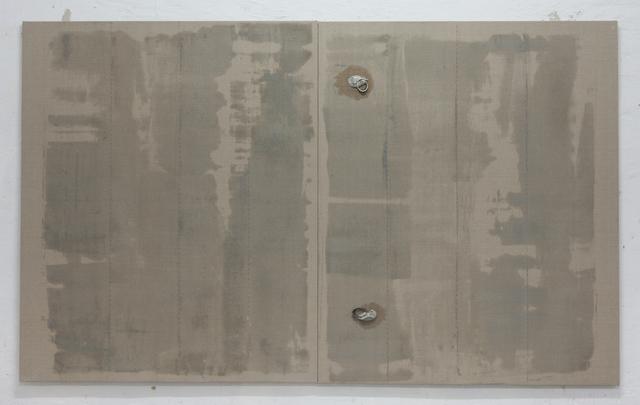 Javier Arbizu, 'Untitled - Oil v1', 2019, Painting, Oil and steel on linen, Ángeles Baños