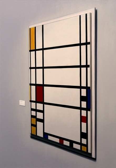 David Klamen, 'Untitled (Mondrian)', 2010, Painting, Oil on canvas, Mark Moore Fine Art
