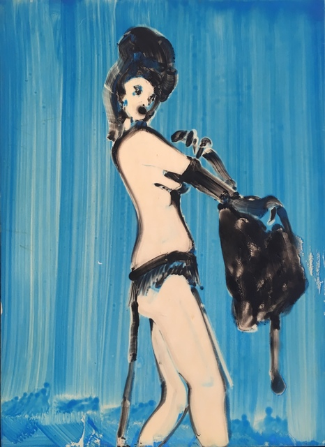 Ilona Szalay, 'Blue 1', 2019, Arusha Gallery