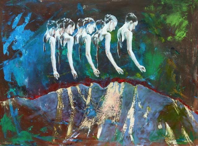 , 'Curious about the Shadows-Sonder,' 2017, Modern West Fine Art