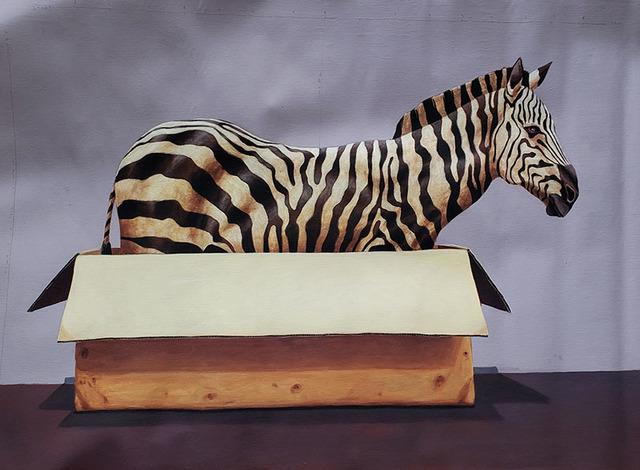 Santiago Garcia, 'Zebra #1034', 2018, Painting, Oil and acrylic on canvas, CODA Gallery