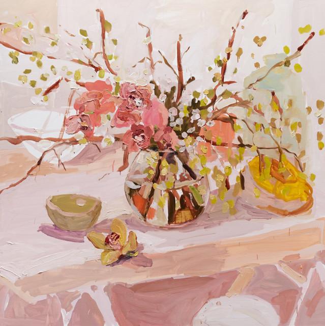 , 'Cymbidium Still Life,' 2015, Olsen Irwin