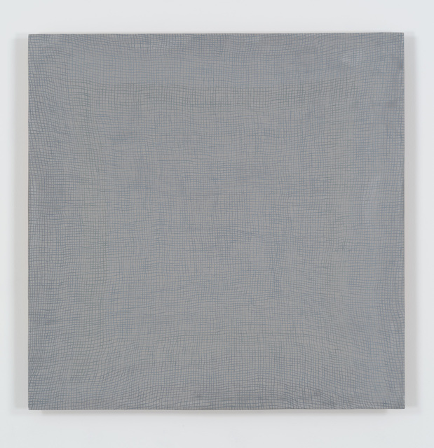 , 'Glory Hole (grey on grey) vibgyor,' 2010, Bortolami