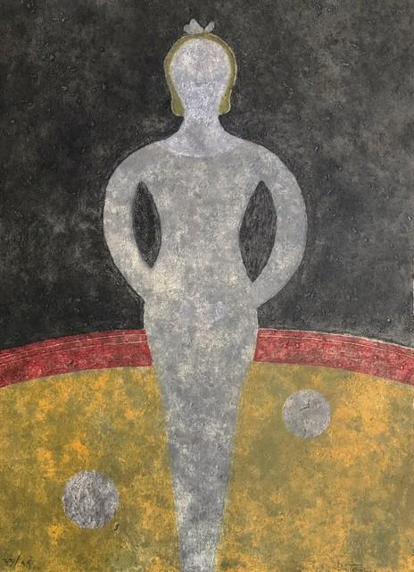 Rufino Tamayo, ' La Cirquera', 1984, Maximilian Contemporary